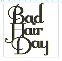Bad hair day 100 x 100  pack of 5